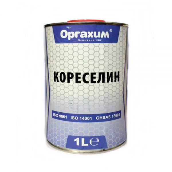 Кореселин 1л. за разреждане на нитроцелулозни грундове, емайлакове, безцветни лакове